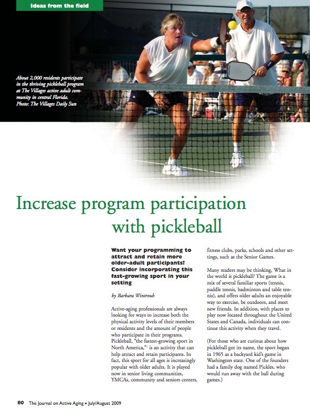 Increase program participation with pickleball by Barbara Wintroub-1043