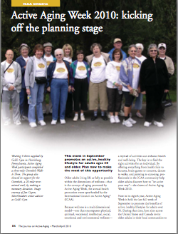 Active Aging Week 2010: kicking off the planning stage-1162