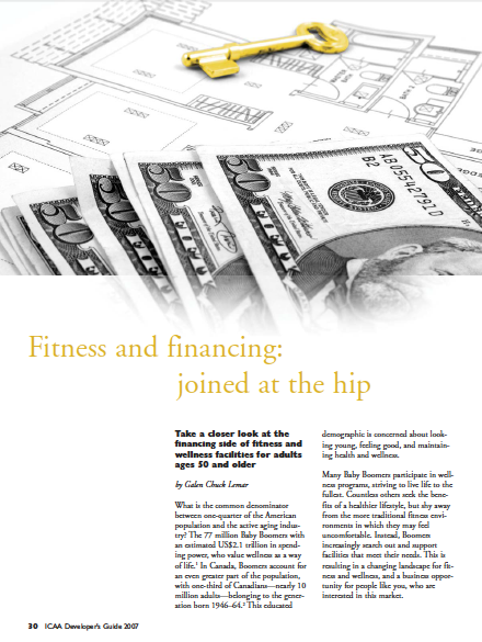 Fitness and financing: joined at the hip by Galen Chuck Lemar-1226