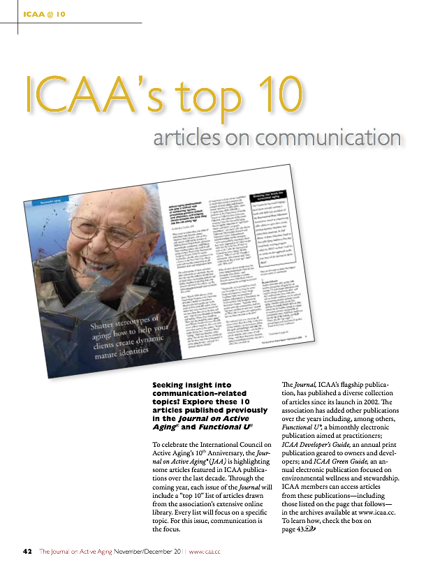 ICAA's top 10 articles on communication-1395