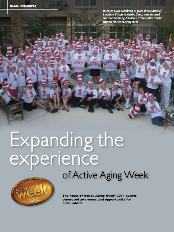 Expanding the experience of Active Aging Week-1405