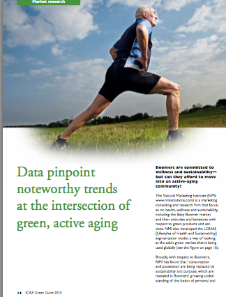 Data pinpoint noteworthy trends at the intersection of green, active aging-1823
