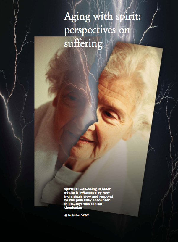 Aging with spirit: perspectives on suffering by Donald R. Koepke-247