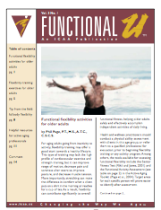 Functional flexibility activities for older adults by Phil Page, P.T., M.S., .T.C., C.S.C.S.-277
