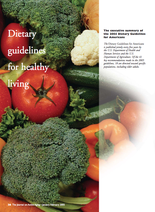 Dietary guidelines for healthy living-294