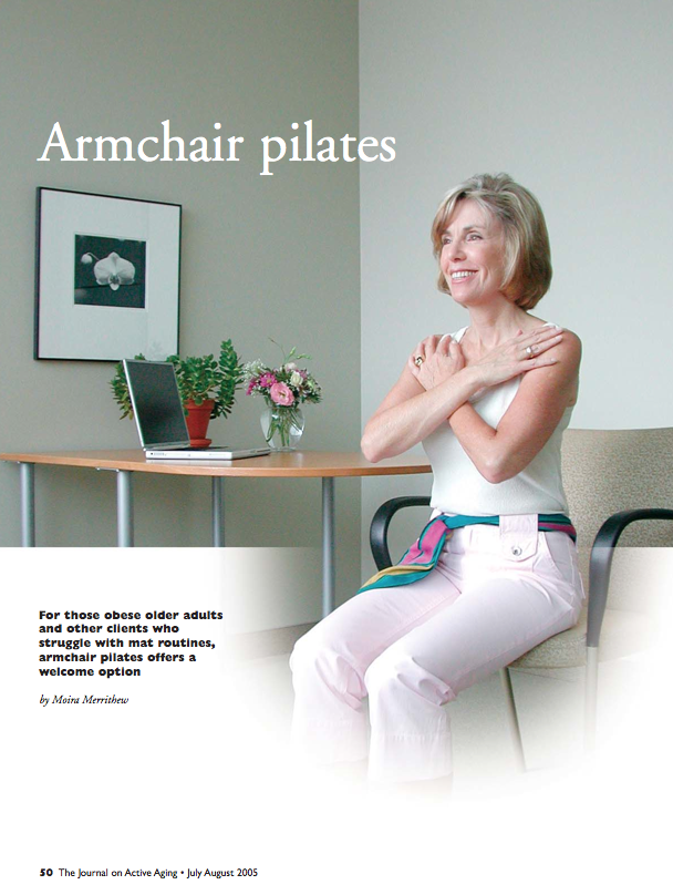 Armchair pilates by Moira Merrithew-325