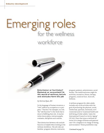 2011-Salary & Benefits Survey: Emerging roles for the wellness workforce-3514