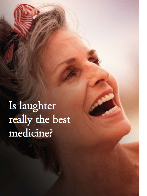 Is laughter really the best medicine? by Marge Coalman-355
