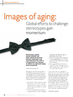 Images of aging: Global efforts to challenge stereotypes gain momentum by Marilynn Larkin, MA-3565
