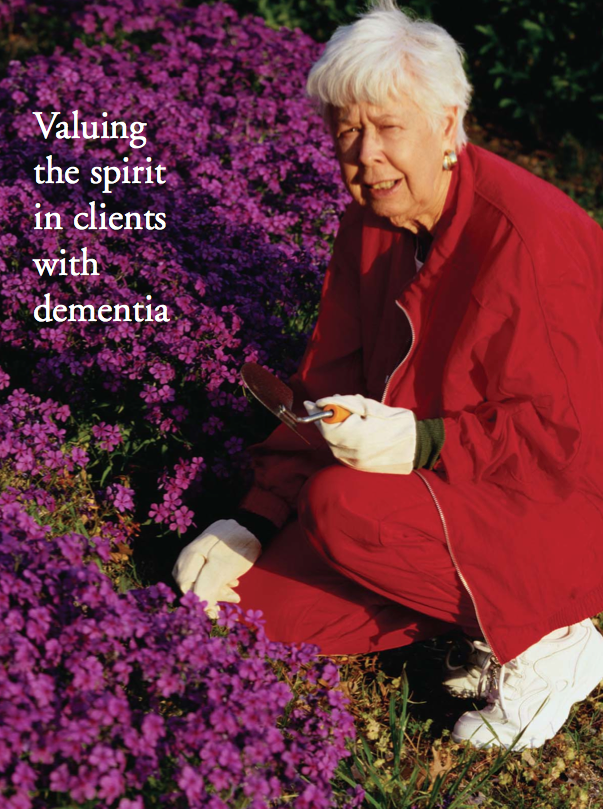 Valuing the spirit in clients with dementia by Donald R. Koeple, Mdiv-363
