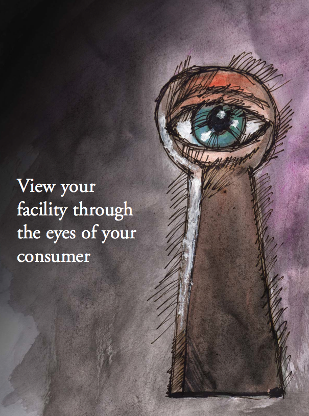 View your facility through the eyes of your consumer by Colin Milner and Michael Voloudakis, PhD, MPH-396