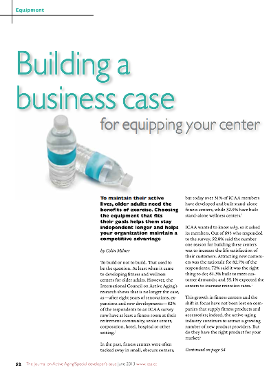 Building a business case for equipping your center by Colin Milner-4190