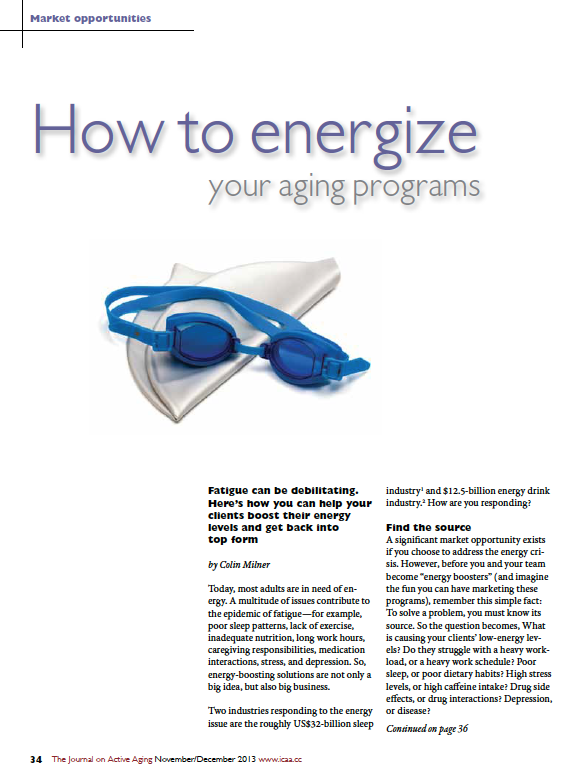 How to energize your aging programs by Colin Milner-4462