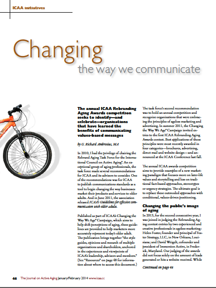 Changing the way we communicate by G. Richard Ambrosius, MA-4624
