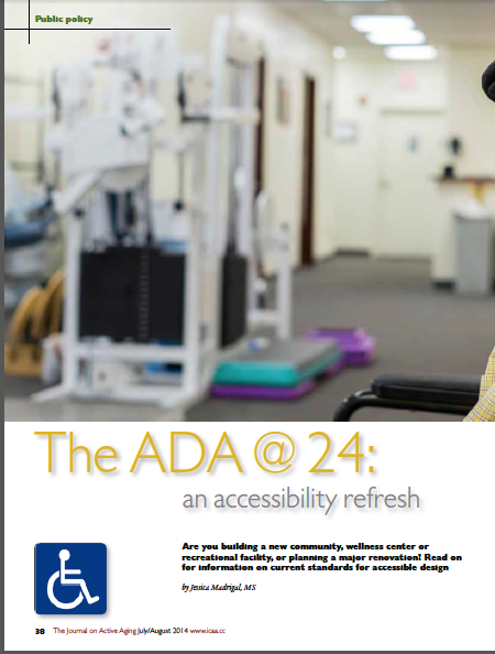 The ADA @ 24: an accessibility refresh by Jessica Madrigal, MS-4912