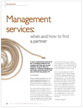 Management services: when and how to find a partner by Colin Milner-4963