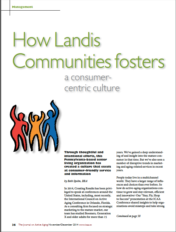 How Landis Communities fosters a consumer-centric culture-4990