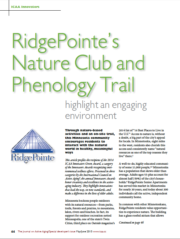 RidgePointe's Nature Club and Phenology Trail highlight an engaging environment-5411