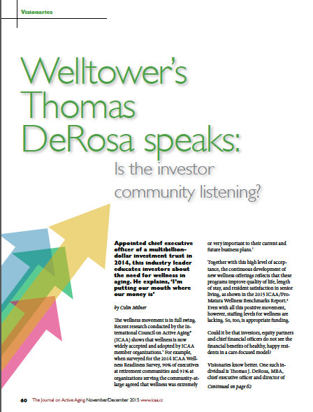 Welltower's Thomas DeRosa speaks: Is the investor community listening?-5564