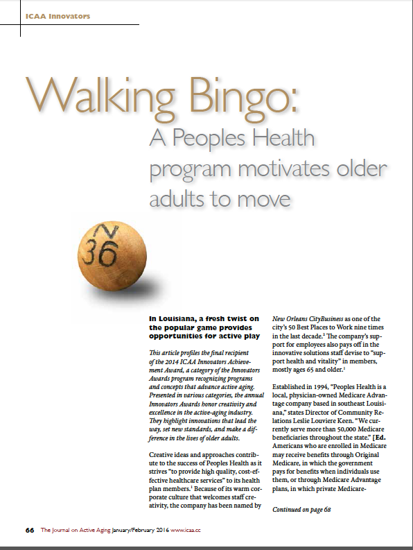 Walking Bingo: A Peoples Health program motivates older adults to move-5596