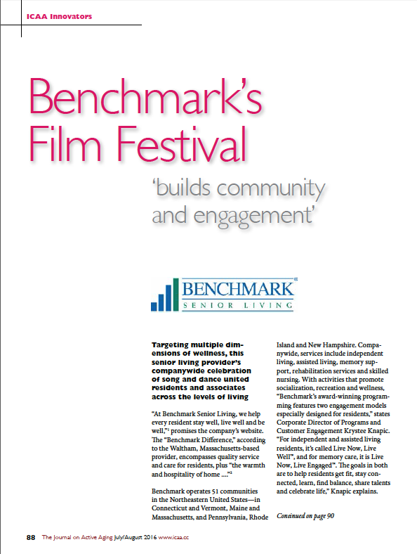 "Benchmark's Film Festival ""builds community and engagement""-5688"