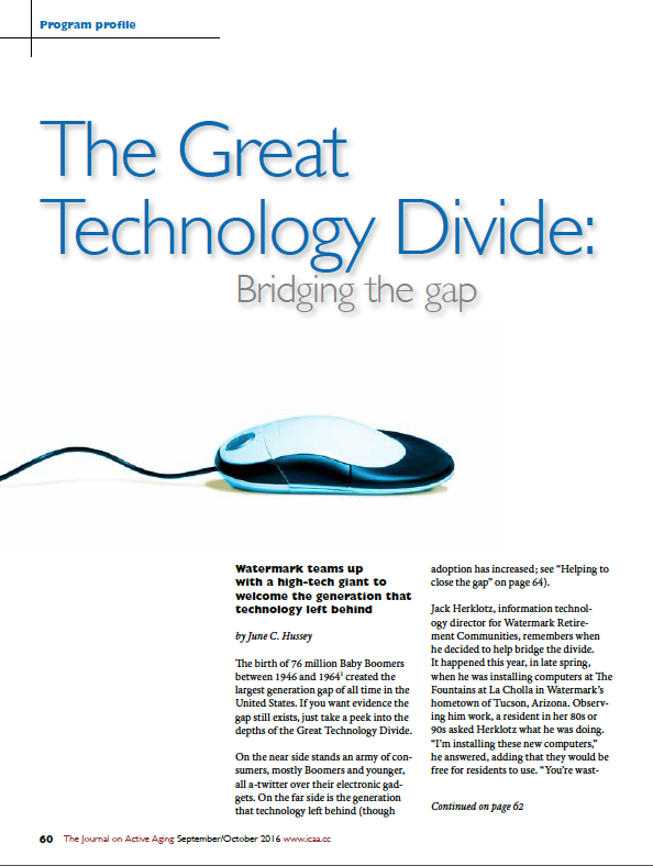 The Great Technology Divide: Bridging the gap by June C. Hussey-5708