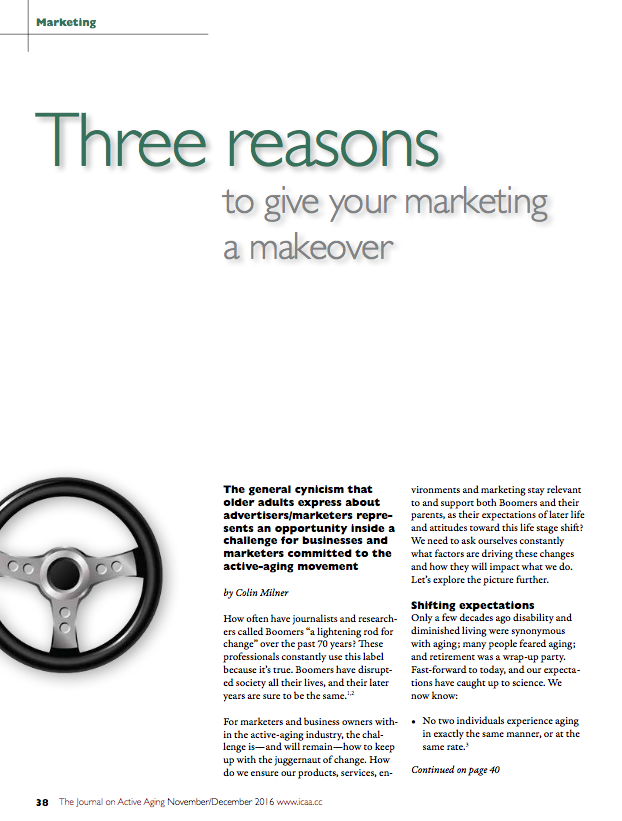 Three reasons to give your marketing a makeover by Colin Milner-5715