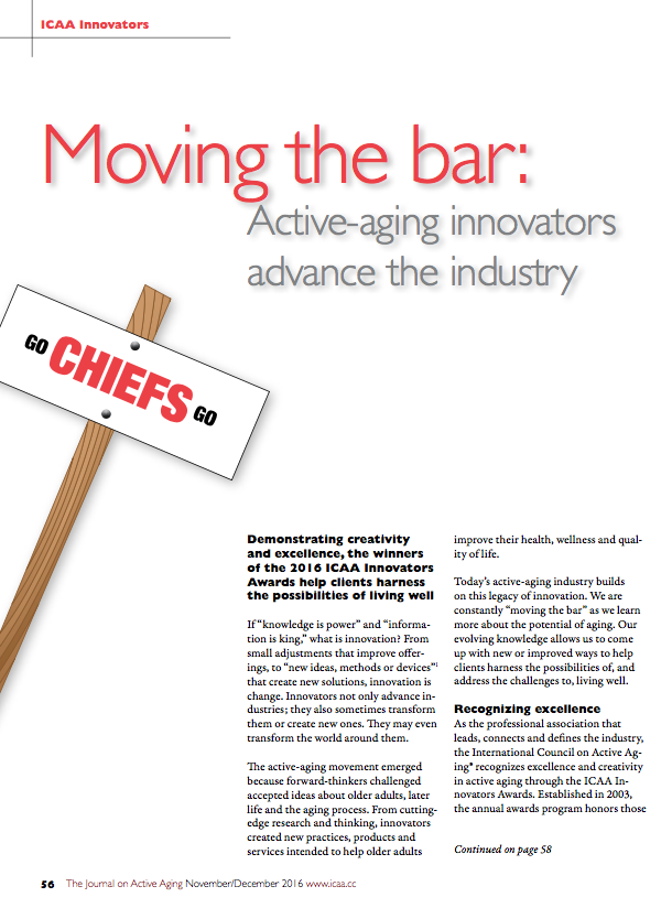 Moving the bar: Active-aging innovators advance the industry-5733