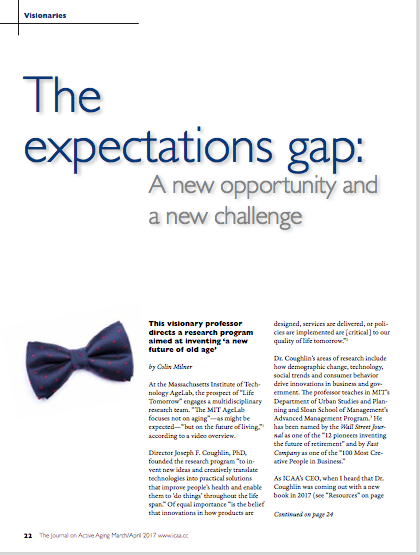 The expectations gap: A new opportunity and a new challenge by Colin Milner-5792