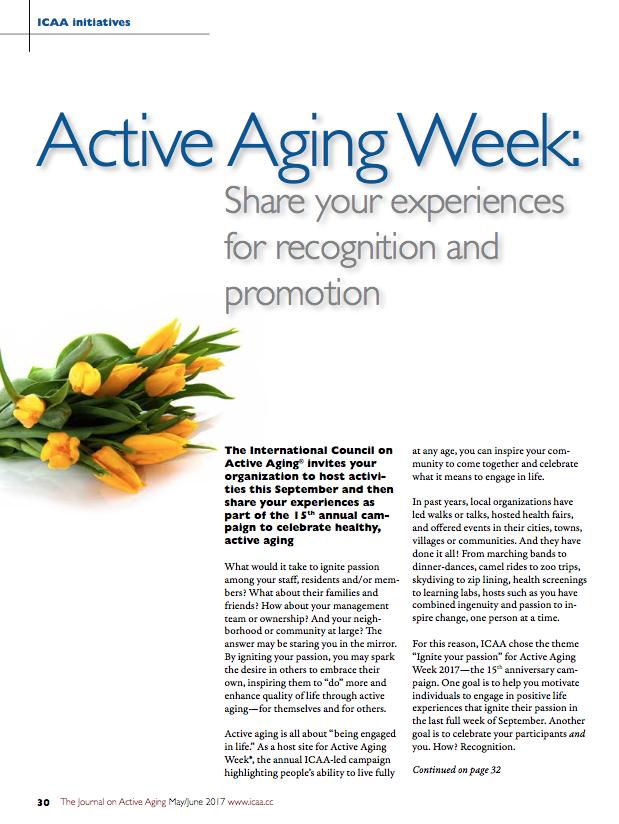 Active Aging Week: Share your experiences for recognition and promotion-5836