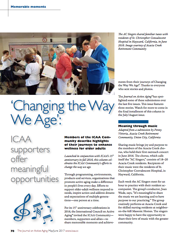 Changing the Way We Age: ICAA supporters offer meaningful opportunities-5839