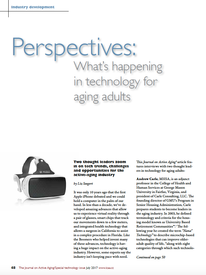 Perspectives: What's happening in technology for aging adults by Liz Seegert-5880