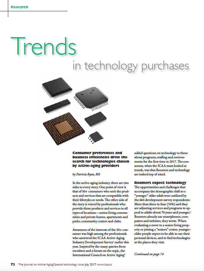 Trends in technology purchases by Patricia Ryan, MS-5892