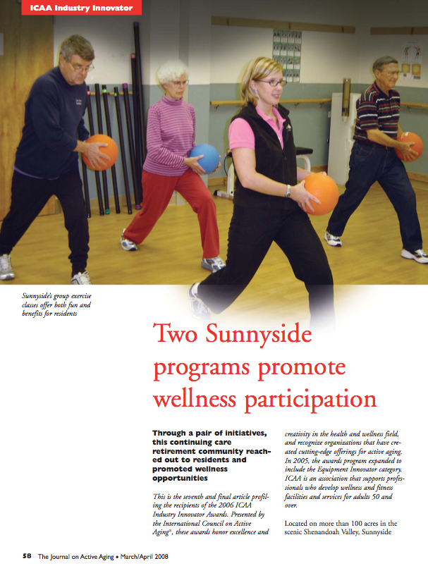 Two Sunnyside programs promote wellness participation-612