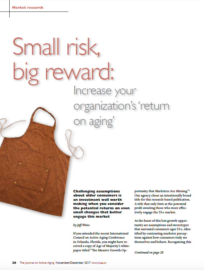 Small risk, big reward: Increase your organization's