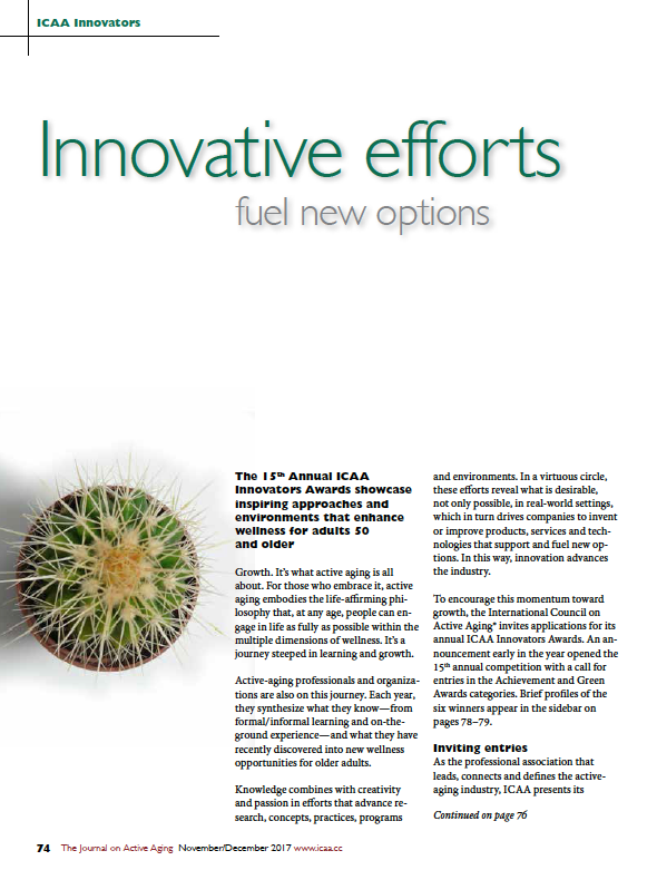 Innovative efforts fuel new options-6231