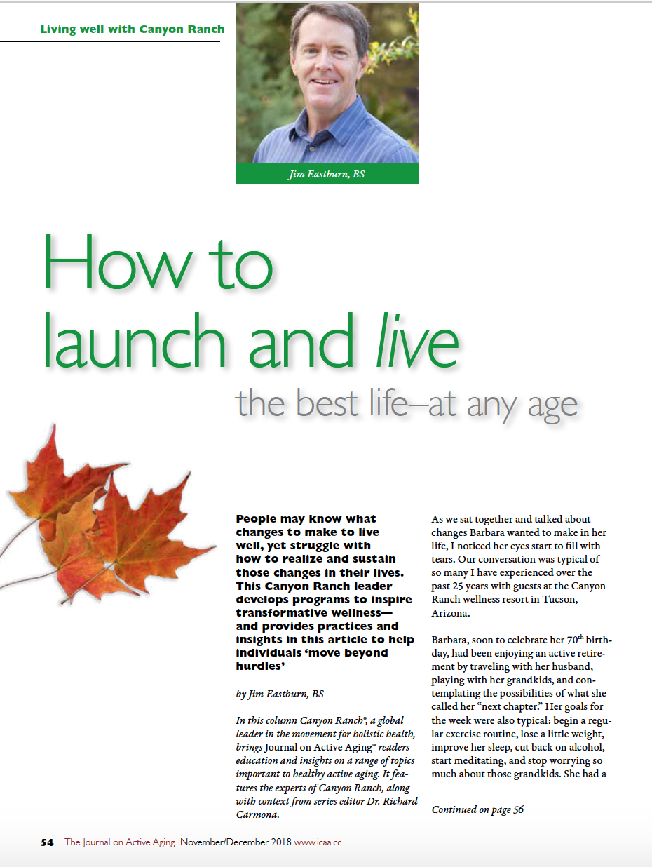 'How to launch and live the best life-at any age by Jim Eastburn, BS-6891