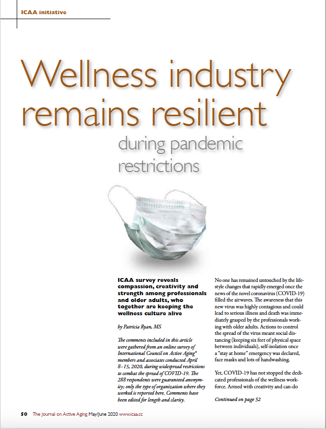 Wellness industry remains resilient during pandemic restrictions by Patricia Ryan, MS-8089