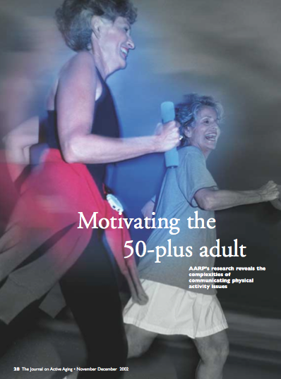 Motivating the 50-plus adult-85
