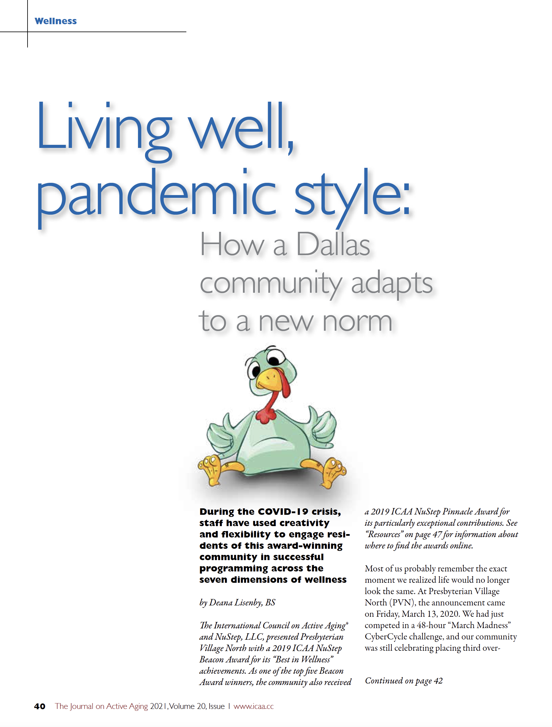 Living well, pandemic style: How a Dallas community adapts to a new norm