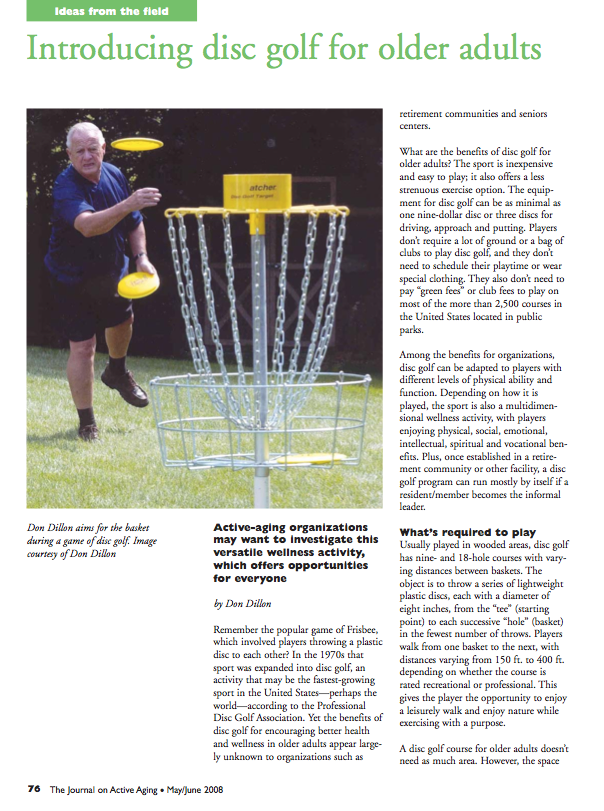 Introducing disc golf for older adults by Don Dillon-942